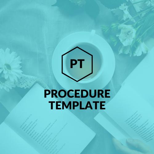 procedure-template