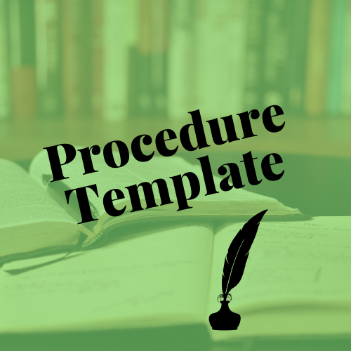 procedure-template